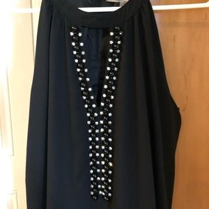 Forever 21 Beaded Drop Waist Dress